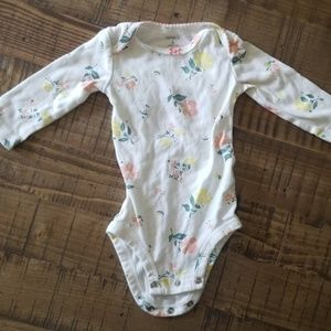 Carter's Long Sleeve Body Suit